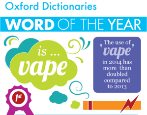 word of the year vape