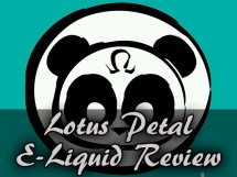 lotus petal e-liquid review