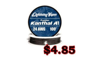 lightning-vapes 24g kanthal deal
