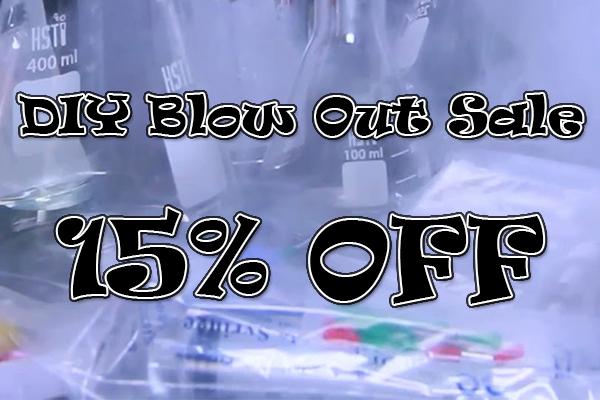 diy blow out sale