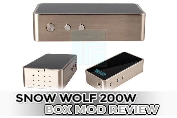 snow wolf box mod review