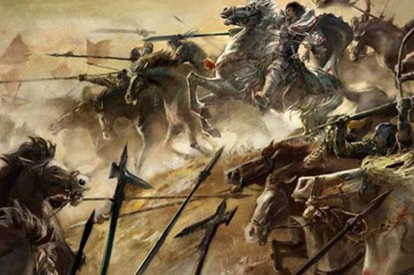 china battle