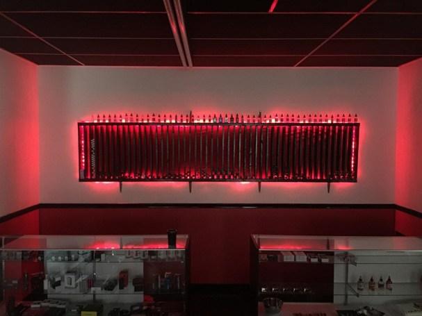 vapor elite display