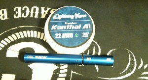 How To Rebuild The TFV4 Atomizer wire and jig