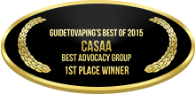 1st Place - Best Advocacy Group - CASAA