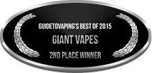 2nd Place - Best of 2015 - Giant Vapes