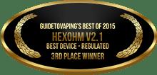 3rd Place - Best Device - Regulated - Hexohm V2. 1