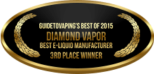 3rd Place - Best E-Liquid Manufacturer - Diamond Vapor