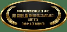 3rd Place - Best RTA - UD Goblin (Mini or Standard)