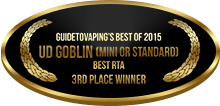3rd Place - Best RTA - UD Goblin (Mini or Standard)