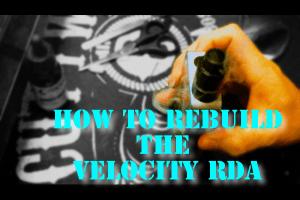 HOW TO REBUILDTHE VELOCITY RDA HEADER