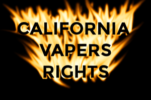 CALIFORNIA shafts vapers