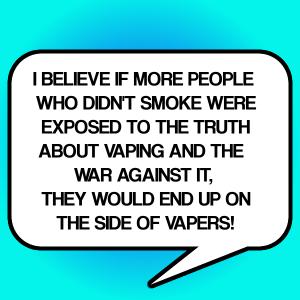 never smokers view bubble