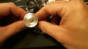 Noros 28.5 mm RDA Review: serial number