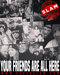 meet the guide to vaping team:why should you be at slam