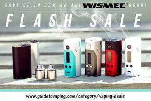 wismec vaping deals