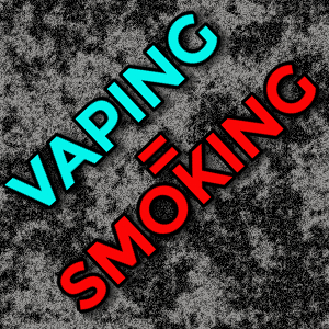Top 5 reasons they want to ban vaping: VAPING=SMOKING