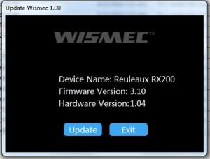 Reuleaux RX 200 bricked version 3.1 solution update software
