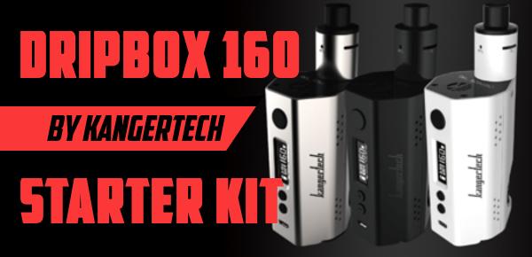 KangerTech 160 watt temperature control DripBox Preview GuideToVaping Featured Image