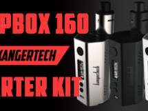 KangerTech 160 watt temperature control DripBox Preview GuideToVaping Featured Image