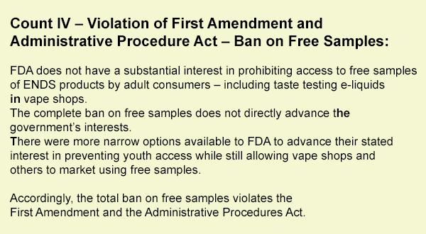 Vaping-Industry-Files-FDA-Complaint-In-DC-count-4u