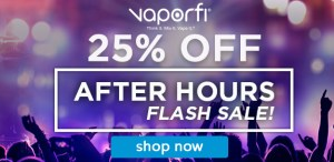 VaporFi Flash Sale