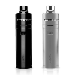 VaporFi Rebel 3 Starter Kit In Black and Silver Colors