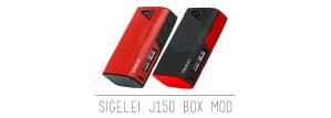 Sigelei J150 Box Mod Preview