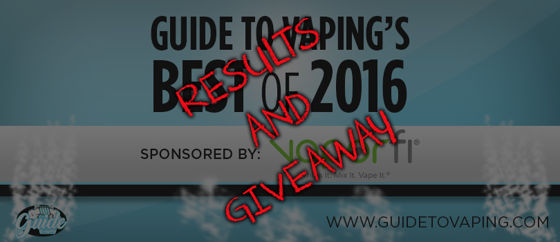 GuideToVapings Best of 2016 Results