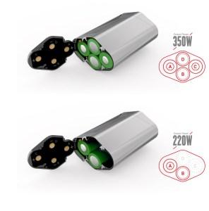 SMOK GX350 Battery Confiruation