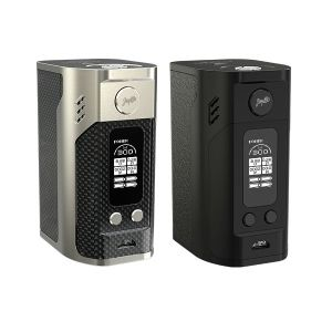 Wismec Reuleaux RX300 Silver and Black