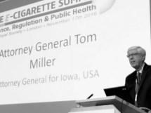 Tom Miller Fight For Vaping