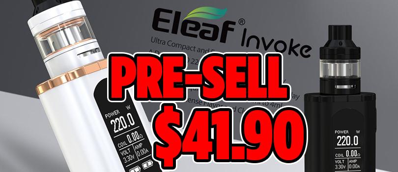 eleaf invoke pre-sell
