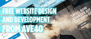 free website design from ave40