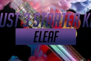Eleaf iJust 3 Kit Promotion