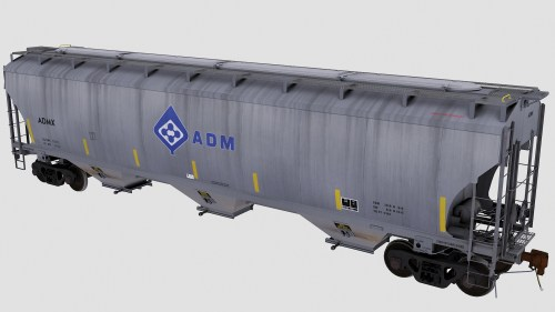 ADMX Trinity 3-Bay Covered Hopper