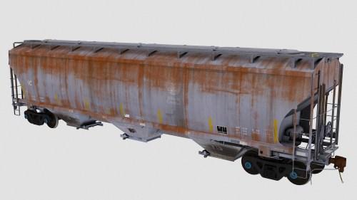 IC Trinity 3-Bay Covered Hopper