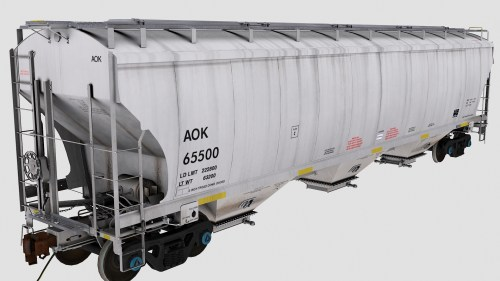AOK Trinity 3-Bay Covered Hopper