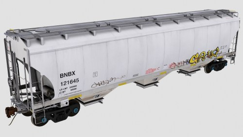 BNBX Trinity 3-Bay Covered Hopper