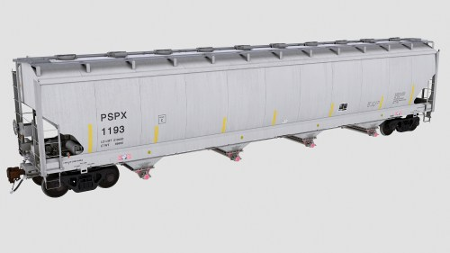 PSPX Trinity 4-Bay Plastics Hopper