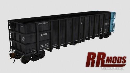 CPOX 1000-1109 Thrall 4000cf Coal Gondola