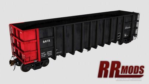 SATX 1001-7110 Thrall 4000cf Coal Gondola