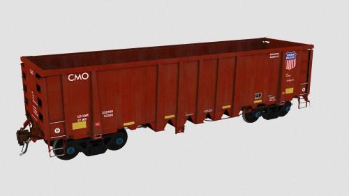 CMO 396300-396579 National Steel Car 2500cf Aggregate Gondola
