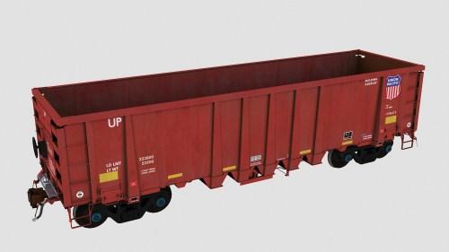 UP 94100-94449 National Steel Car 2500cf Aggregate Gondola