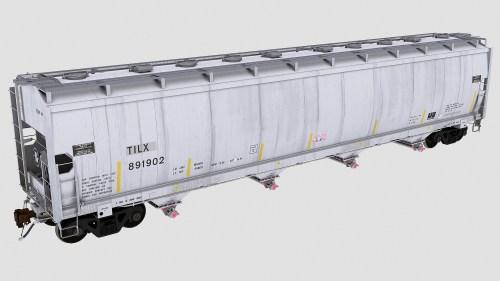 TILX 891900-891999 Trinity 4-bay plastics hopper 5851cf