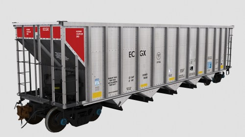 ECGX 06001-06240 FCA Autoflood 3 5-Bay Hopper