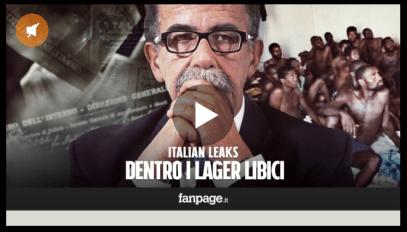 sandro ruotolo ; fanpage.it; lager libici ;