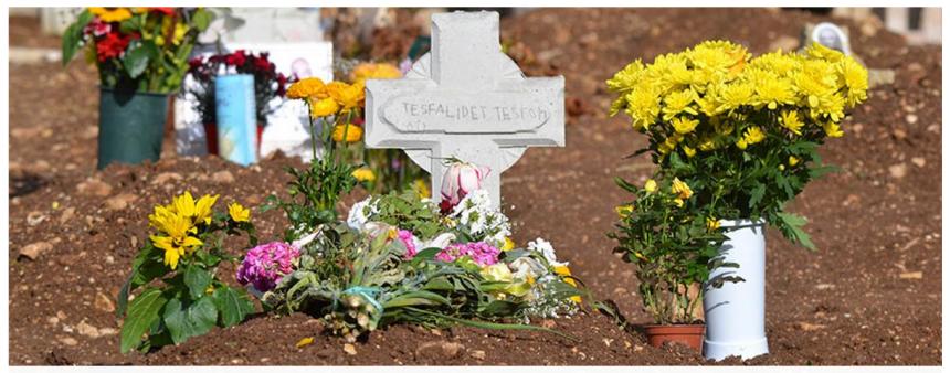 Segen ; Tesfalidet Tesfom ; martireprofeta ; lagerlibici; cimiteroModica; vittoriaaglioppressi