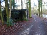 Bunkersysteem langs antitankkanaal