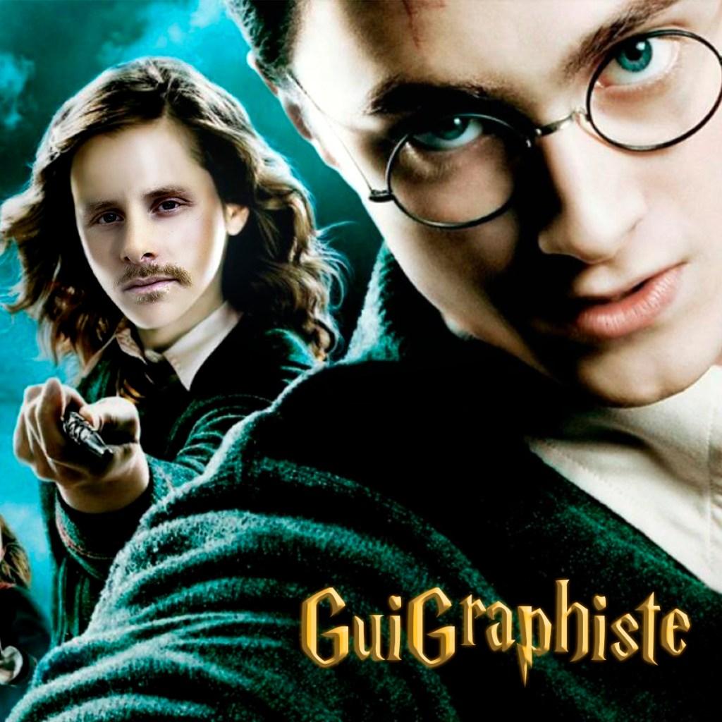 Photomontage Harry Potter par GuiGraphiste